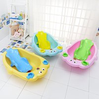Wholesale New baby bath newborn baby products baby shower a children s bath basin pp plastic three kind of colors a of drop shipping