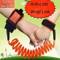 Wholesale 2016 Kids Safety Wristband Wrist Link Toddler Harness Leash Strap Anti Lost Bracelet Adjustable Baby Outdoor Anti Lost Belt Walking Wings