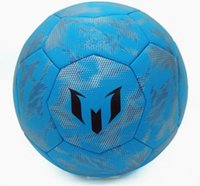 argentina soccer balls - Hongkong Genuine AD Argentina Messi exclusive soccer ball S90259 size Blue Skid particles Competition Training football