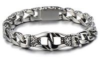anniversary gifts for boyfriend - Newest Gothic Biker Men Chain Bracelet Anniversary Gifts for Boyfriend or Husband Valentine Gifts for Men