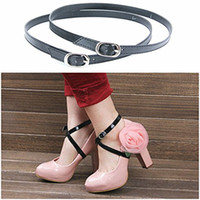 adjustable strap shoes - Adjustable Women High Heels Summer Pumps Ankle Anti Slip Strap Sandals Ladies Shoes Straps Laces Band Holding Loose High Heeled Shoes