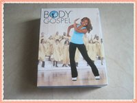 Wholesale BODY GOSPEL fitness DVD Base Kit DVDs CD Exercise Fitness Videos Exercize Videos keep your mood clam down and comfortable by DHL free