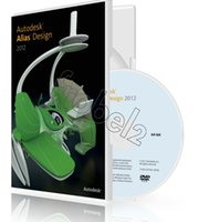 alias - Factory Full cracked Autodesk Alias Design English for win version DVD English Language software Plastic color box packaging
