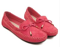 Wholesale High Quality Genuine Leather Loafers Women Causal Fashion Women s Flats Spring Autumn Ballet Flats Plus Size