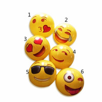 Wholesale 2016 Inflatable Emoji Ball Inflatable Beach Ball Inflatable Play Water Polo For Kids and Adult Outdoor Play
