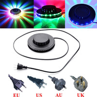 Wholesale Colorful Rotating Lights RGB LED light Stage Lights Party Disco Lamp Laser Stage Light for home decoration lighting lamps