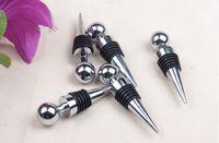 Wholesale zinc alloy wire round head six wine stopper Red wine wine stopper Stuffed fresh wine160629