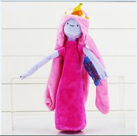 adventure games best - Adventure Time Stuffed Plush Toys Princess Bonnibel Bubblegum Plush Doll Toy With Tag Best Gift For Children cm