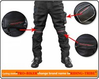 active pro gear - M L XL XXL XL Protective Gear Pro biker Black Polyester Full Length Tld Motocross Racing pants Men