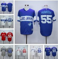 baseball canada - 2016 New Toronto Blue Jays Russell Martin Jersey Blue White Gray Red With Canada Flag Authentic mens Baseball shirts