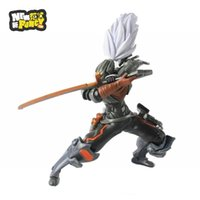 assassin pc - 2016 cm LOL Master Yi Yasuo the Unforgiven Lonia Sword Armour Warrior Assassin Anime PC Game Toys Model Action Figure