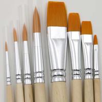 Wholesale New Set Fine Hand painted Pen Drawing Art Pen Paint Nylon Brush Art Supplies Gouache Watercolor Papelaria