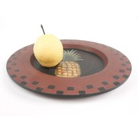 Wholesale home deocration Natural Wood Serving Tray Tea Food Oriental Plate Dish Platter Snack Plates new zakka vintage decor