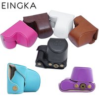 Wholesale Camera Bag PU Case Lightweight Cover Pouch with Screw for Sony ILCE A5000 ILCE A5100 Camera