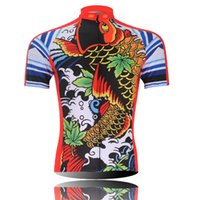 Wholesale Hot Red Cycling Jerseys Cycling clothing bicycle jersey Team bike bicycle Cycling jersey short sleeve Cycling wear