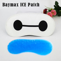 Wholesale Anime blindfold cartoon patch big hero Baymax Sticker For VR Glasses