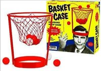basket case gift baskets - Creative sport game Basket Case Headband Hoop Game play with family party outdoor game funny toy gift