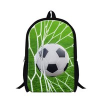 backpacking pictures - 2016 d school bag football picture of mochila for boys cool Bookbag Kids school Backpacks Fashion kids backpacking bag day pack