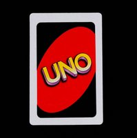 Wholesale Standard UNO Cards Game Thicken Coated Paper Playing Cards for Family Funny Entertainment Party and Other Playing Occasion