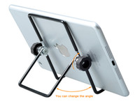 Wholesale Universal Tablet Desk Stand Holder Bracket For iPad Mini Air pro lenovo apple iphone For xiaomi mipad samsung PDAs huawei htc Accessorie