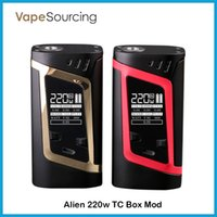 best baby temperature - Authentic SMOK Alien TC Box MOD W VW Temperature Control Mod Fit Original TFV8 Baby Best Tank DHL fast ship