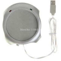 Wholesale 1 Usb Gadget Silver USB Hub Winter Warmer Pad and Insulation Cup Mug Warmer