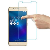 asus warranty - Tempered Glass Screen Protector for Asus Zenfone ZC520TL Deluxe ZS570KL Max ZE520KL HD Clarity H Hardness D Arc Life Warranty