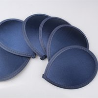 Wholesale 12 color avaliable navy cm teardrop satin fascinator base millinery hats DIY hair accessories party occasion headwear material L04