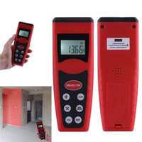 Wholesale High accuracy Original m Handheld Digital LCD backlight Ultrasonic Measure Distance Meter Measurer Range Finder