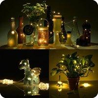 batteries dry cell - Waterproof M LED Button Cell Battery LED String Light Fairy Lights with Copper Wire for Party Christmas Decoration