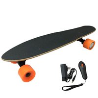 Wholesale New Complete Wireless Controller Professional Sports Electric Skateboard w Remote Control Wheels Motor Drive E Longboard for Adult Kids
