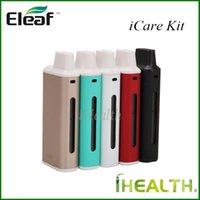 Wholesale Eleaf iCare Starter Kit mah Battery ml Tank iCare Mini PCC Kit mah Battery ml with mah iCare Mini PCC Original