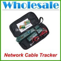 Wholesale New Cable Finder Tone Generator Probe Lan Wire Tracker Kit Network Tester Meter Lots100