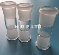 Cheap Glass adapter domeless glass nail glass converter male female glass nail adapter for enail diy quartz banger e nail domeless