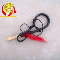 Wholesale Wooden handle Shepherd whip Ruanbian Bullwhip Kung Fu Whip Kamimuchi Martial arts Health ring whip Wooden handle