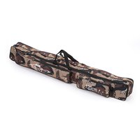 Wholesale NEW M Fishing Bag Large Capacity Double Layer Fishing Rod Tackle Bag H10622