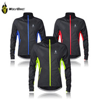 Wholesale Winter Thermal Fleece Cycling Jersey Long Sleeve Cycling Clothing Windproof Warm Mountain Road Bicycle Bike Outer Wear G2016