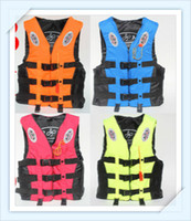 Wholesale Professional life jacket adult swimming ship drifting fishing vest from diving Water Sports snorkeling Life Vest