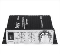 Wholesale Lepy Lepai LP A W Hi Fi AMP Class T Digital Stereo Amplifier Power Adapter Car Amp