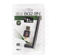 Ethernet cartes sans fil France-150M USB Mini routeur WiFi Réseau de points chaud Carte de réseau sans fil Adaptateur LAN + Antenne