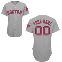 Wholesale Baseball jersey Boston Red Sox Custom jersey Personalized jersey any name any number name number Stitched