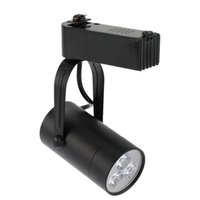 Wholesale Super Bright LEDs AC85 V W LED COB Track Spotlight Rail Light Adjustable Ceiling Rail Track lighting Spot warm white white