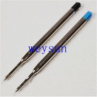 Wholesale Parker style Blue medium Nib Ballpoint Pen Refills