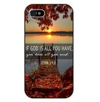 bible verses free - Phone Case John Lake sunset Bible verse cover Hard Back case for iPhone s s c s Plus iPod Samsung s6 edge