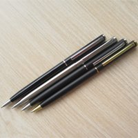 Wholesale 50Pcs Sheaffer ballpoint pens Metal barrel with metal refill black ink mm ball point