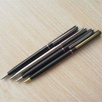 ball point ink - 50Pcs Sheaffer ballpoint pens Metal barrel with metal refill black ink mm ball point