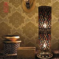 Wholesale Bohemian style loft floor lamp vintage floor lamp Living room floor lamp Bedroom light