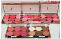 Wholesale 5 MAKEUP Lowest NEW product SIX COLORS BLUSH