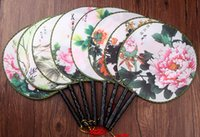 bamboo chines - Chines classic palace ladies fan Retro folding fans wedding supplies many colors for choice Drop shipping Hot sale
