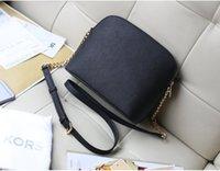 Wholesale Hot Sell PROMOTION newest brand fashion designer PU leather cross pattern handbag chain shell bag shoulder bag Messenger bag
